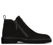 Black suede boot AUSTIN