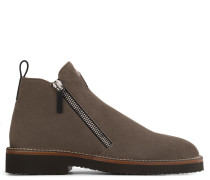 Suede boot with signature AUSTIN