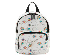 Balloon printed fabric backpack BALOONS JR