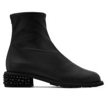 Stiefel aus schwarzem Stretch-Nappaleder GABRIELA
