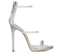 Patent leather 'Harmony' sandal with crystals HARMONY SPARKLE