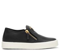 Leather slip-on sneaker ADAM