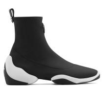 Black neoprene high-top sneaker LIGHT JUMP HT1
