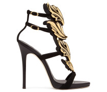 Patent leather 'Cruel' sandal with metal 'Cruel' accessory CRUEL