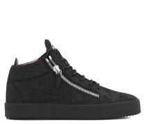 Kriss Croco Mid Top Sneakers