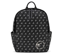 Black fabric backpack THE SIGNATURE
