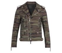 Camouflage neoprene motorcycle jacket KIAN