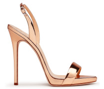 Mirrored patent leather 'Sophie' sandal SOPHIE