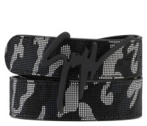 Camouflage fabric with rubber finishing belt GIUSEPPE