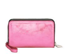 Rose fabric wallet MATHILDE