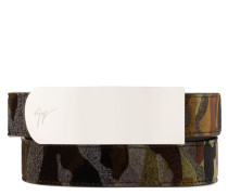 Military camouflage fabric belt LANE