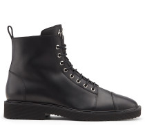 Black leather boot CHRIS LOW