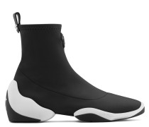 Black neoprene high-top sneaker LIGHT JUMP HT1