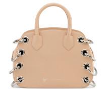 Pink calfskin leather handbag G#18