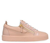 Leather low-top sneaker NICKI