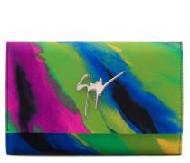 Multicolour lycra clutch CLEOPATRA