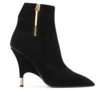 Black suede boot ROSLYN