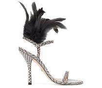 The Ricki Sandal - Black & White