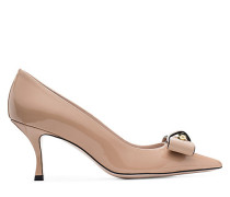 Die Belle Pointe Pumps - Adobe Beige