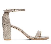 Die Nearlynude Sandale - Platinum