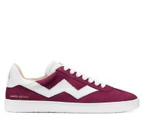 Der Daryl Sneaker - Cranberry