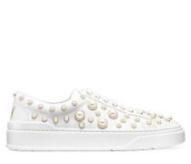 Der Pearline Sneaker - White