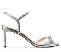 Die Gloria 80 Sandale - Silver