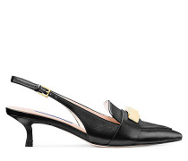 Der Cleo Pyramid 50 Pumps - Black