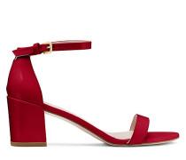 Die Simple Sandale - Flame Red