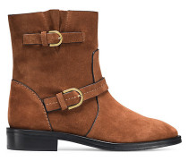 Die Hale Booties - Saddle Brown