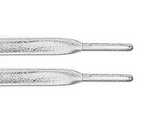 Die Sw X Aglit Italy Schnürsenkel - Silver