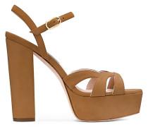 Die Misty Platform Sandale - Camel Brown