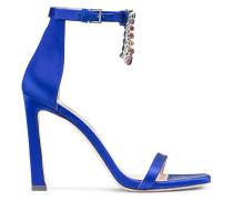 Die 100Fringesquarenudist Sandalen - Blue Violet
