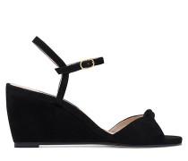 Die Gloria Wedge-Sandale - Black