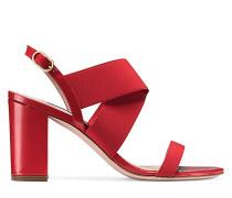 Die Alana Block 75 Sandale - Followme Red