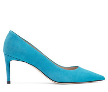 Die Leigh 70 Pumps - Oceanic Blue