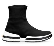 Sw-612 Bootie Sneaker - Black