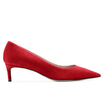 Die Leigh 45 Pumps - Crimson Red