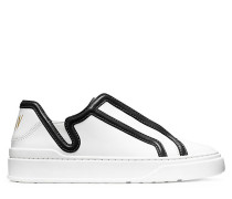 Der Mirel Sneaker - White  & Black