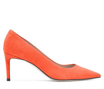 Die Leigh 70 Pumps - Fire Orange