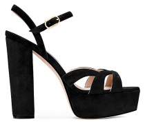 Die Misty Platform Sandale - Black
