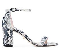 Die Nearlynude Sandale - Black & White