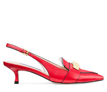 Der Cleo Pyramid 50 Pumps - Follow Me Red