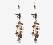 Ohrringe mit Muscheln und Perlen