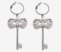 Ohrringe mit Schlüssel-Anhänger