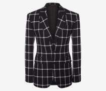 Couture-Jacke mit Fensterkaros