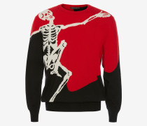 "Pullover ""Dancing Skeleton"""