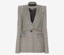 Couture-Jackett mit Glencheck-Muster