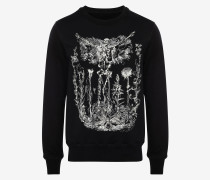 Sweatshirt Etched Skeleton