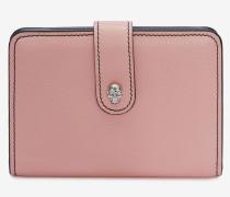 Klappbare Brieftasche mit Skull